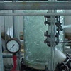 Columns of glass borosilicate 3.3