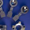 Rupture disk of steel
