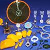 Rupture disk of plastic